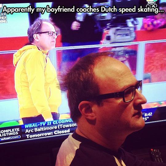 Dutch look-alike…