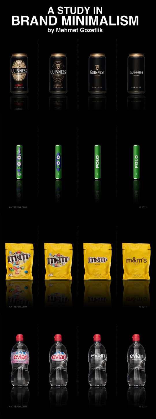 A study in brand minimalism...
