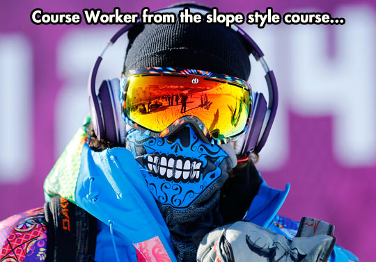 Snow wear is the coolest wear…