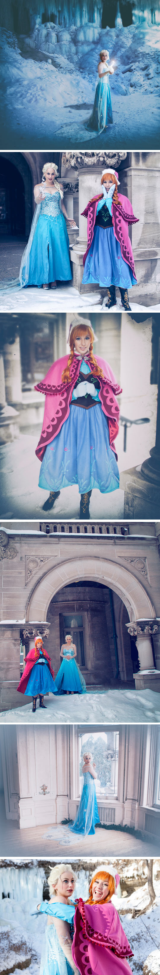 funny-costume-Disney-Frozen-characters-cosplay
