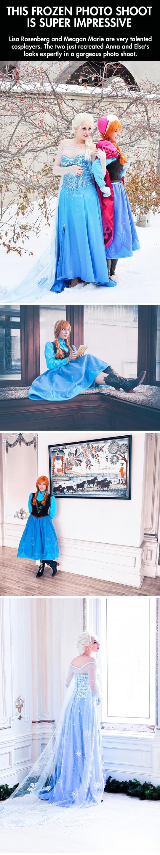 Frozen cosplay...