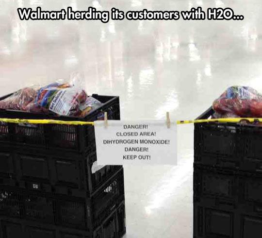 Beware of the H2O…