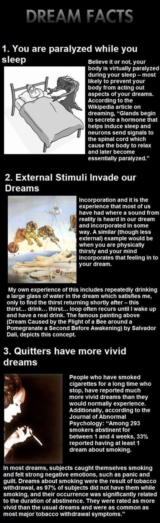 Dream facts that will shake you...