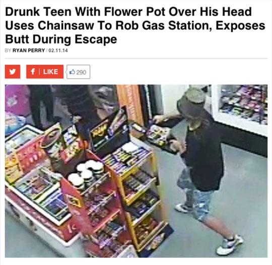 The true pot head…