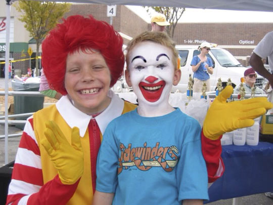 funny-face-swap-Ronald-kid-Mcdonalds
