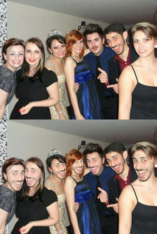 Face swaps are back…
