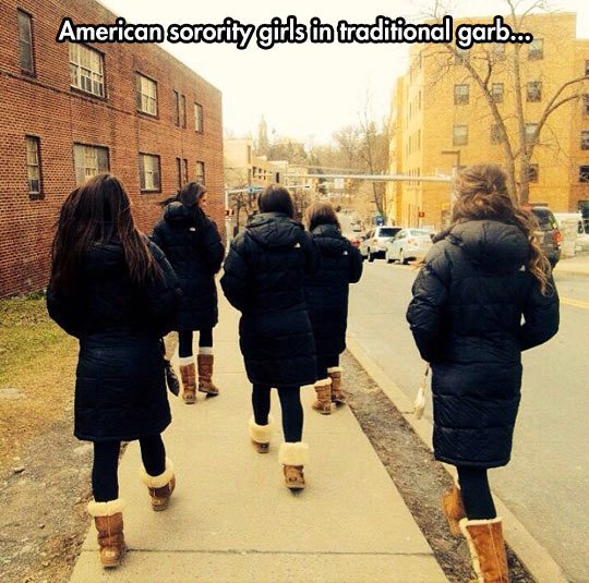 In college you can experiment with your individuality…