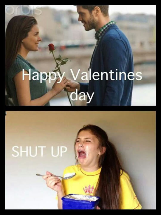 funny-girl-Valentine-Day-ice-cream