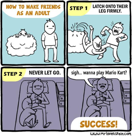 funny-how-make-friends-comic