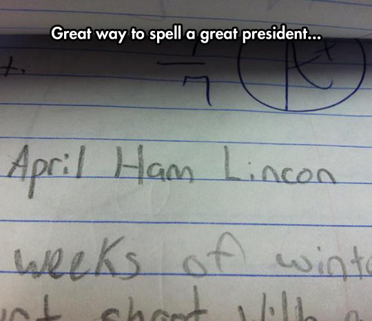 funny-kid-test-Lincoln-president