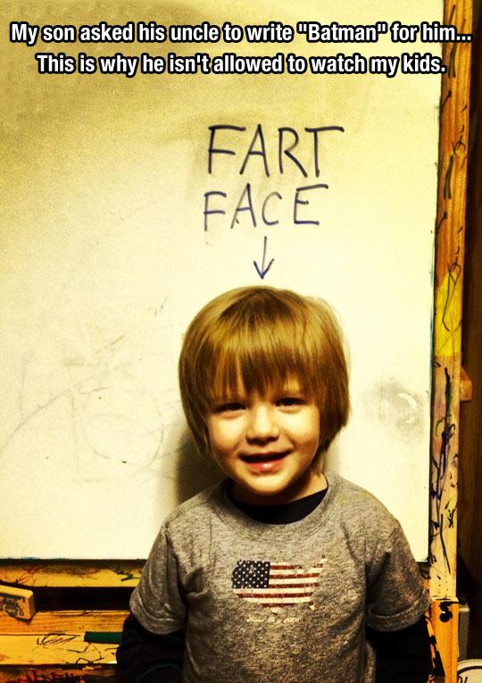 funny-kid-whiteboard-sign-Batman