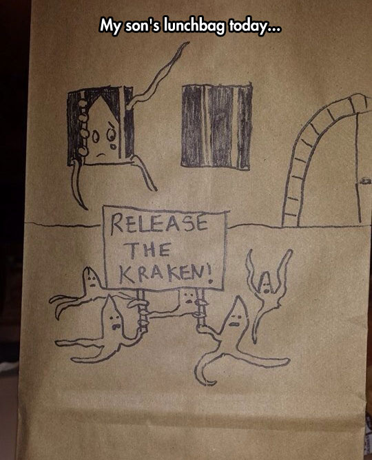 funny-lunch-bag-drawing-Kraken-castle