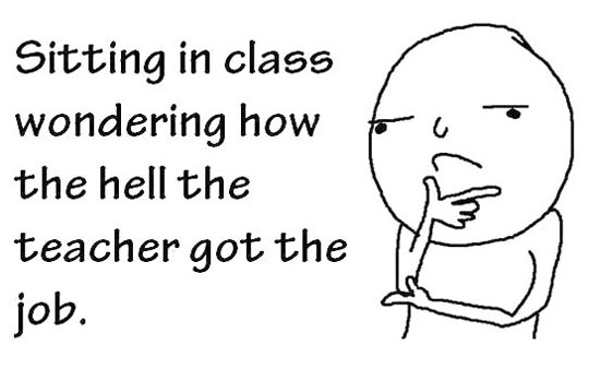 Thought this in every semester…