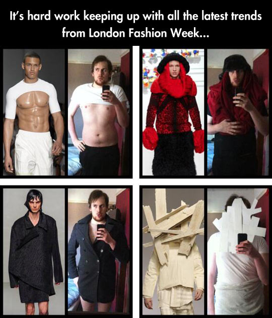 The latest trends in fashion…