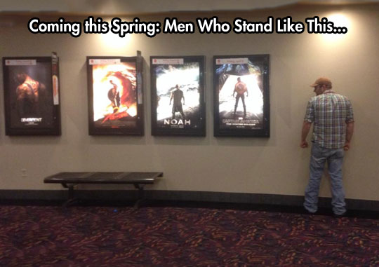 Movie posters got a little repetitive…
