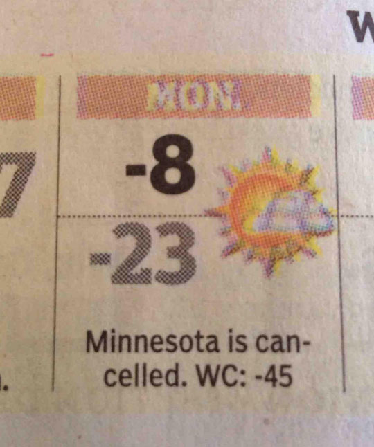 funny-newspaper-weather-cast-Minnesota-cancelled