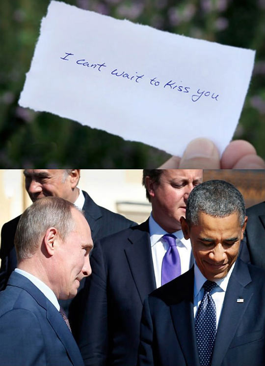 Can't wait to start Putin' it in…