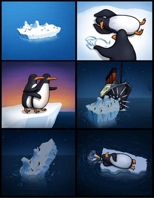 Alternate Titanic story…