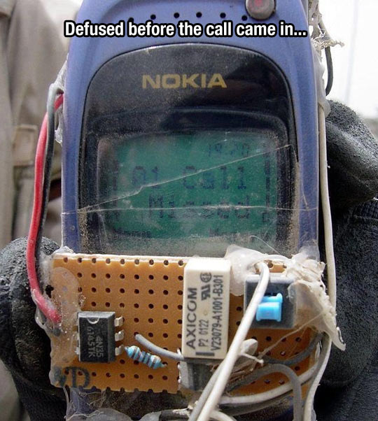 The Nokia would still have survived…