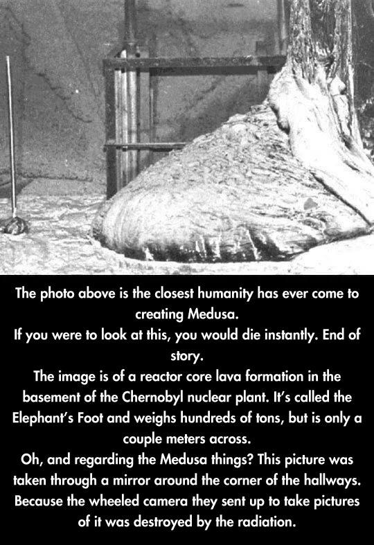 The Medusa photo…