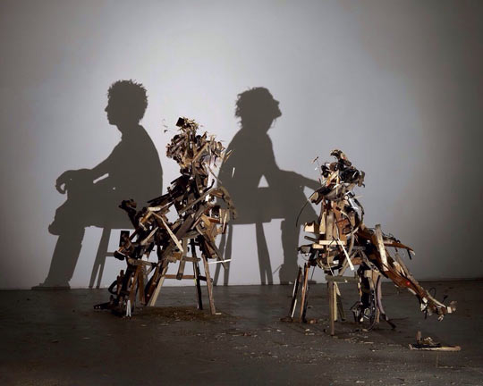 Incredible shadow art…