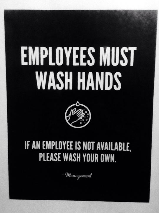 funny-sign-employees-wash-hands