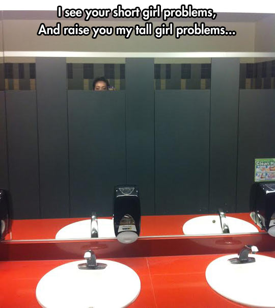 funny-tall-girl-problems-bathroom