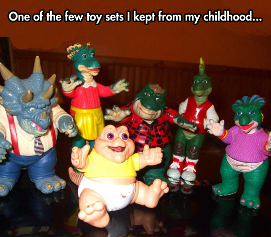 Oh, so many childhood memories…