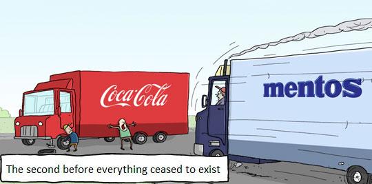 funny-webcomic-truck-crash-Coke-Mentos