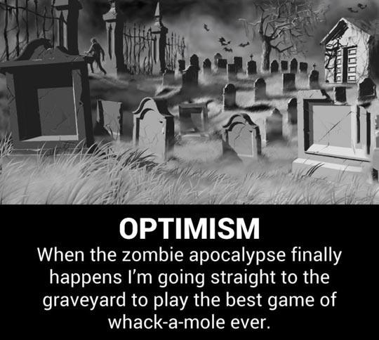 Being optimistic…