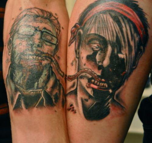 ill-advised-couple-tattoos-zombie