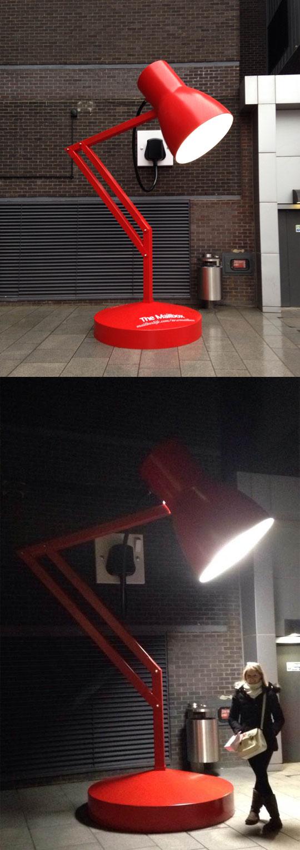Desk lamp street light