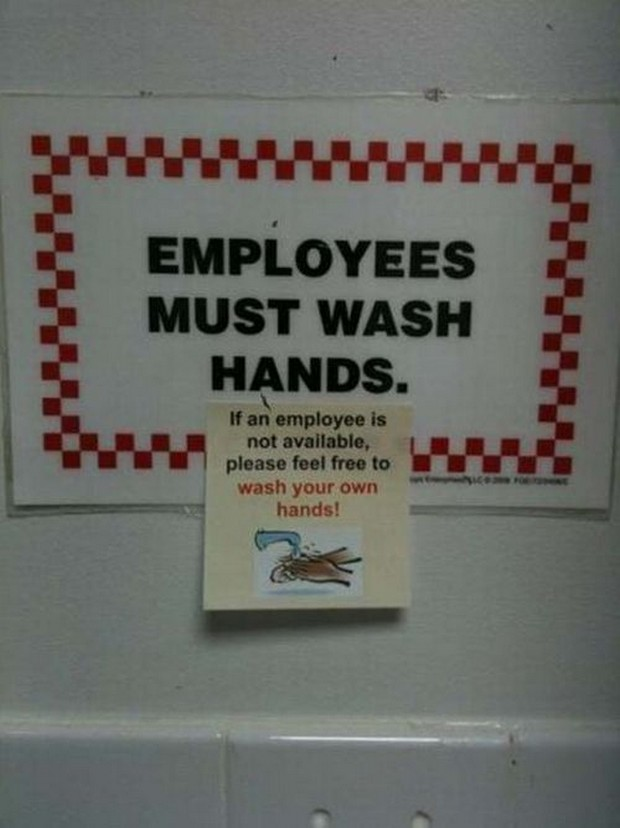 Employee-wash-hands-sign-smartass-response