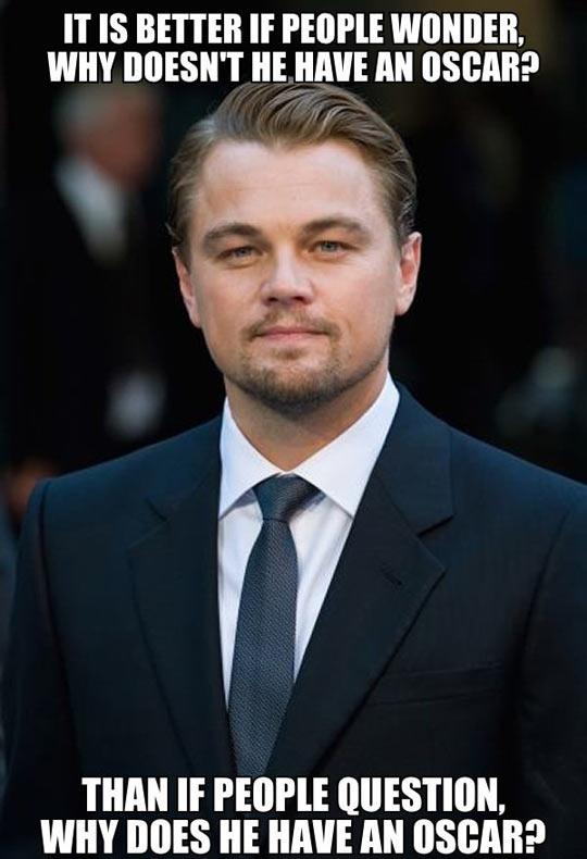 Leonardo DiCaprio still wins