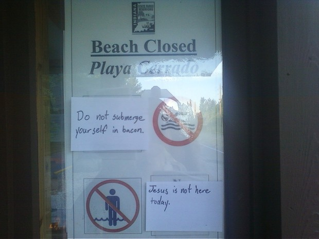 Smartass-Responses-Beach-Closed-funny-Sign