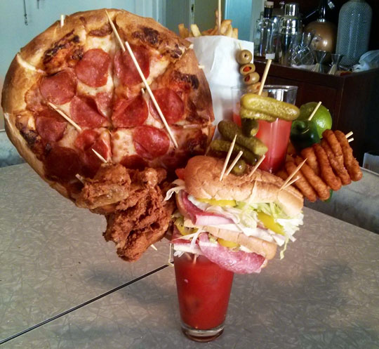 Just One Bloody Mary Before Dinner