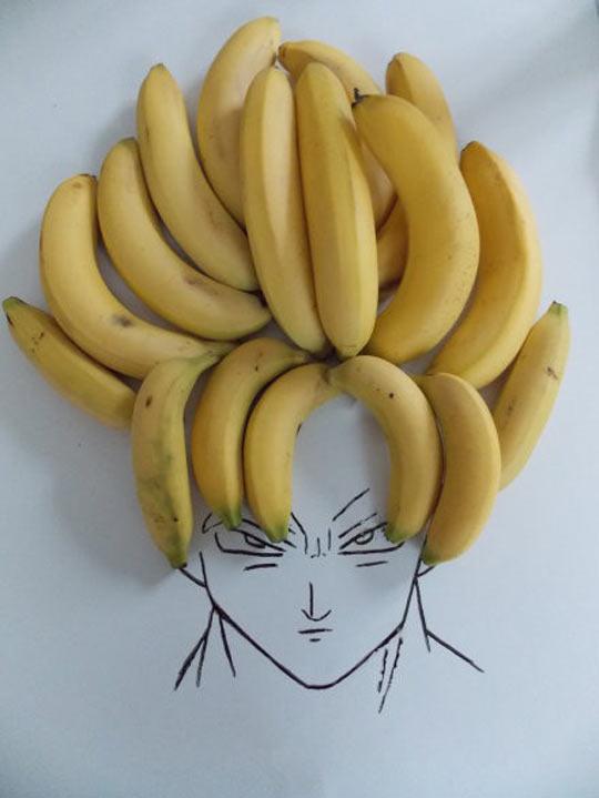 cool-Dragon-Ball-Vegeta-drawing-bananas