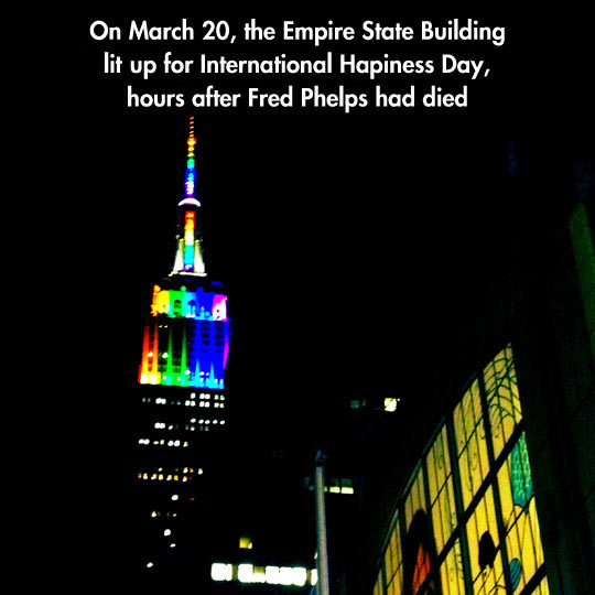 At Least He Didn't Die On International LGBT Day