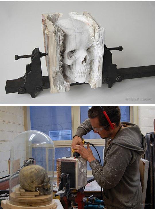 cool-Maskull-Laserre-wood-carving-sculptures-skull