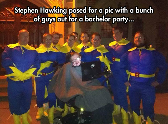 The wildest bachelor party…