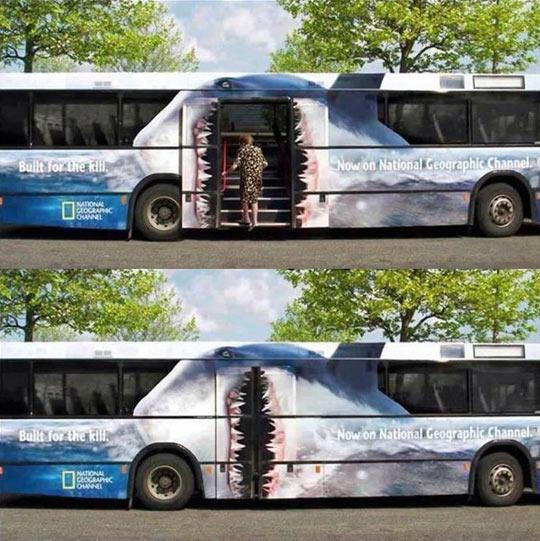 cool-bus-shark-National-Geographic-ad-door