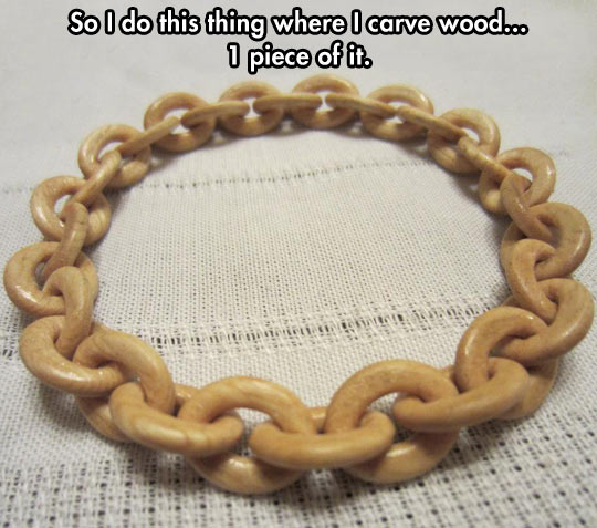 Wood Work, Man