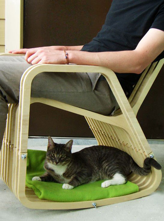 The Best Rocking Chair Design, Approved By Cats