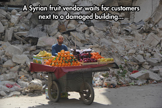cool-fruit-cart-Syria-vendor-rubble
