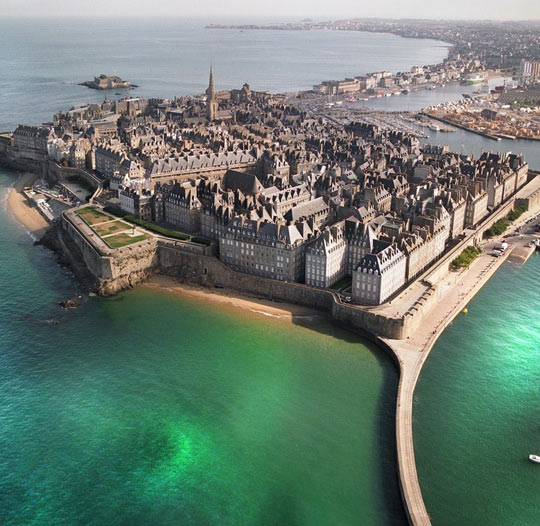 Beautiful St. Malo In France