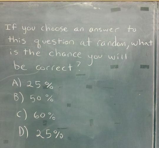 Smart teacher…