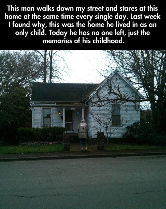 cool-old-man-walking-house-childhood-memories