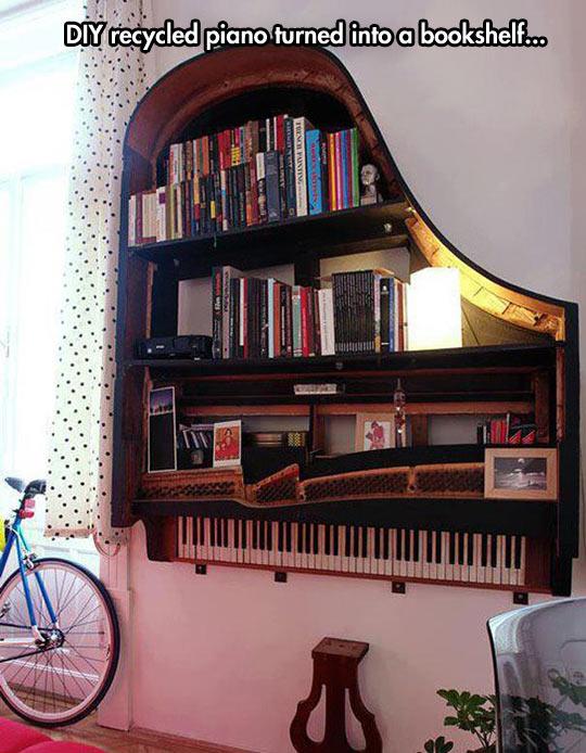 I wish I had a piano to spare…