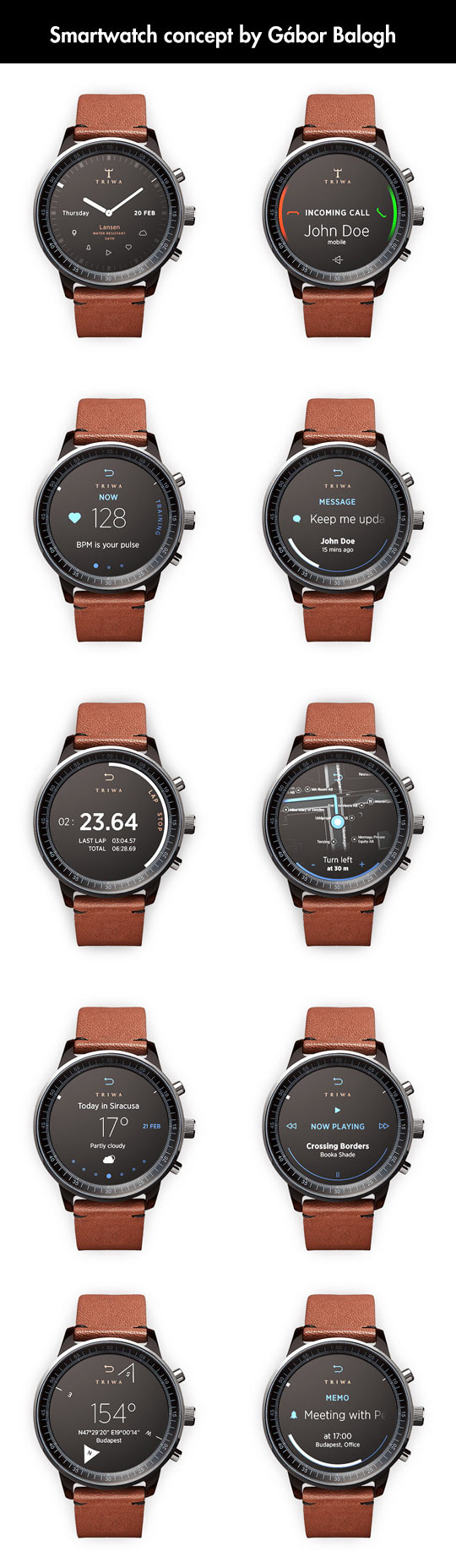 One Of The Best Smartwatch Concepts Around