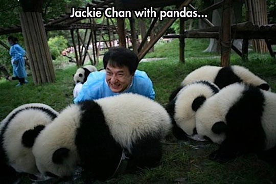 Jackie Chanda Knows Who To Hang With